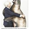 Tiere bedanken sich mit einer Umarmung: Online-Magazin PETA50plus.de präsentiert neue Motive