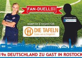 Deutschland zu Gast in Rostock – Das Kurzurlaub.de Fan-Duell