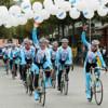 Radsportteam des WEISSEN RINGS erreicht Mainz