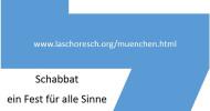 Grenzgänge: Schabbat ? Ein Fest für alle Sinne mit klassischer Musik in München