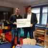 glatthaar-fertigkeller finanziert neues Beleuchtungskonzept für Kinderkrebsstation in der Kinderklinik Mainz