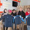 Büro Klaus Ulrich (Aachen) mit großzügiger Kleiderspende für DRK und ZfsA