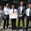 arvato Financial Solutions spendet erneut 5000 Euro an die Freiwillige Feuerwehr Verl