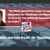 Köln: Turnhalle zurückgefordert. Freier Wähler kritisiert Umgang mit Sportvereinen.