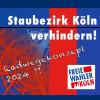 Köln: Freier Wähler fordert radikale Umkehr in der Kölner Verkehrspolitik.