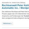 Matt Mullenweg und Automattic Inc. droht weitere Niederlage