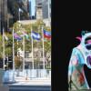Promi-Kunst zum Tag der Gewaltlosigkeit (FOTO)