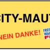 Köln: City-Maut Nein Danke! Freie Wähler für Fahrrad-Abgabe und Masterplan.