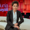 """dunja hayali"" im ZDFüber linke Gewalt, Wohnungsnot und Social influencer (FOTO)"