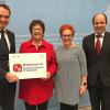 Bundeswirtschaftsministerin Brigitte Zypries gibt Startschuss für das Mittelstand 4.0-Kompetenzzentrum IT-Wirtschaft