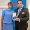 Estlands Staatspräsidentin in Düsseldorf / Hohe Auszeichnung Estlands für Mario Ohoven (FOTO)