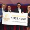 McDonald–s erzielt mit seinen Tätigkeiten rund um die Benefiz Gala eine Rekordsumme von 1.921.435 Euro zugunsten Familien schwer kranker Kinder (FOTO)