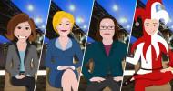Zur Sache Rheinland-Pfalz: Jetzt wird–s ernst! / Neue animierte Interview-Glosse im Politikmagazin des SWR Fernsehens ab Donnerstag, 24. Januar 2019, 20:15 Uhr (FOTO)