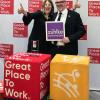 """Beste Arbeitgeber: Zühlke in den Top 10 / Die deutsche Tochterfirma des international tätigen Innovationsdienstleisters belegt im neuesten """"Great Place to Work""""-Ranking den 6. Platz (FOTO)"""