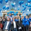 """""""ES LEBE DIE FREIHEIT!"""" – Geburtstagsfeier für das Grundgesetz am Brandenburger Tor: Die Gesellschaft für Freiheitsrechte feiert in Berlin 70 Jahre Menschenwürdegarantie und Grundrechte (FOTO)"""