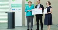 Die startsocial-Preisträger stehen fest: Bundeskanzlerin ehrt soziale Initiativen für herausragendes Engagement (FOTO)
