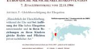 Ministerin Lambrecht soll Väterrechte ratifizieren / Väterverbände prangern Untätigkeit der Bundesregierung an (FOTO)