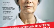 215Ärzte fordern im neuen stern: Mensch vor Profit! (FOTO)