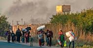 Neue Eskalation in Syrien: Bereits mehr als 160.000 Menschen auf der Flucht (FOTO)