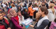 Samaritan–s Purse hilft syrischen Flüchtlingen / Hilfsorganisation verteilt mehr als 20 Tonnen Hilfsgüter (FOTO)