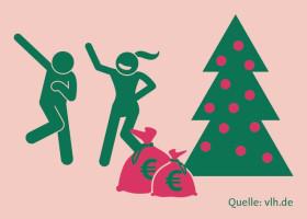 Weihnachtsgeld ist steuerpflichtig (FOTO)