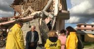 Help in Albanien: Noch immer stürzen Häuser ein / Schlechte Bauweise verursacht weitere Schäden