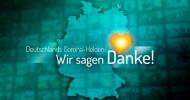"""Zusammenrücken trotz Mindestabstand. """"Deutschlands Corona-Helden: Wir sagen Danke!"""" am Montag, 20. April 2020, um 20:15 Uhr in SAT.1 (FOTO)"""
