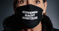 Schweigen macht schutzlos – Prominente machen sich stark gegen häusliche Gewalt / Bundesweite Kampagne wirbt für Opferhilfe des WEISSEN RINGS (FOTO)