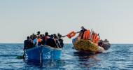 """Ohne Seenotrettung entsteht ein menschenrechtliches Vakuum / Bündnis """"Aktion Deutschland Hilft"""" fordert Freigabe der Ocean Viking (FOTO)"""
