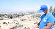 Nach verheerender Explosion in Beirut: Islamic Relief sagt 5 Millionen US-Dollar für den Wiederaufbau des Libanon zu (FOTO)