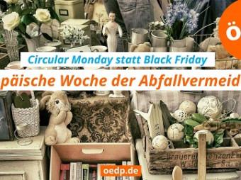 Circular Monday statt Black Friday – ÖDP für Recycling statt Konsumwahn