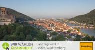 """Uniklinik-Fusion Mannheim/Heidelberg: Politiker erwarten """"Charité am Neckar"""" / health tv-Talk im Vorfeld der Landtagswahl in Baden-Württemberg (FOTO)"""