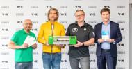 """Toni Kroos bei """"Die Höhle der Löwen"""" / Maschmeyer löst Versprechen ein: Weltstar kooperiert mit Startup Green MNKY (FOTO)"""