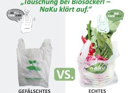Täuschung bei Biosackerl – Wie Kompostierbarkeit vorgegaukelt wird