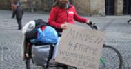 Max Bryan auf Deutschland-Tour: Obdachloser wirbt für Wohnraum-Projekt