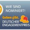 Wege aus der Einsamkeit e.V. für Deutschen Engagementpreis 2012 nominiert