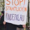 Siegburg: Demonstration gegen Familienzerstörung und staatliche Inobhutnahmen von Kindern