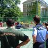 Sport gegen Gewalt im Kiez – Innensenator Henkel im Märkischen Viertel