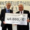 Lohi spendet 40.000 Euro für Flutopfer